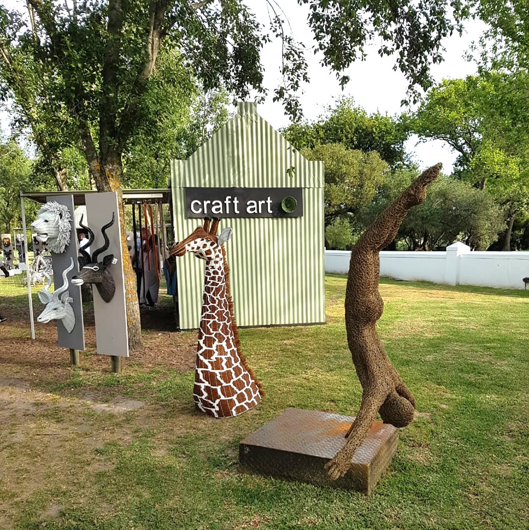 The craft Market at Spier 2018-2019 - craft art