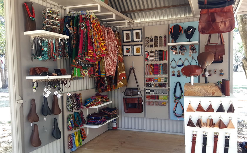 Unit 3 - Necklaces, African printed fabrics, loom weaving and leather products
