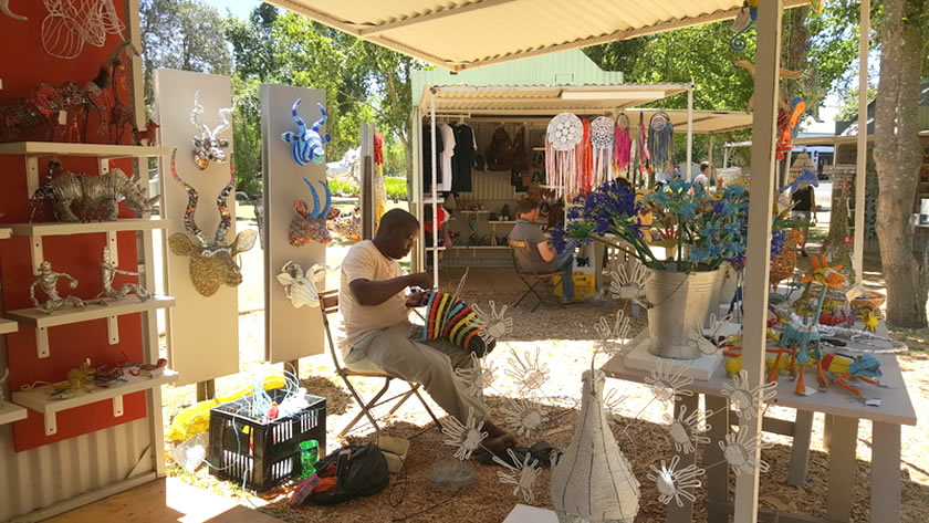 Spier Craft Market: Beadwork and Metalwork - Unit 6