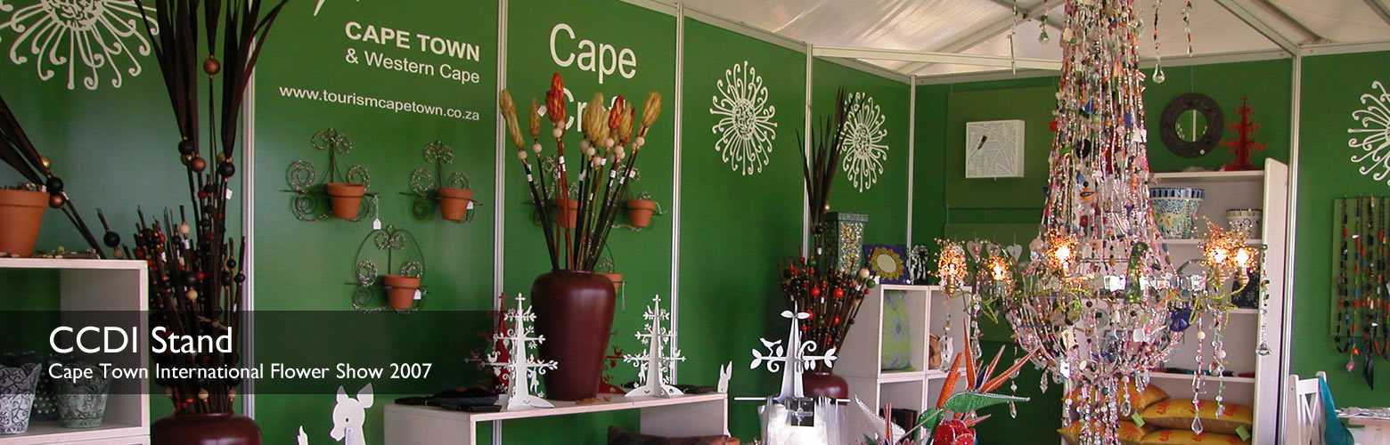 Slide of Cape Town International Flower Show