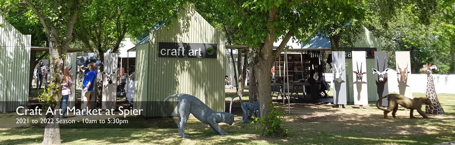 Slide of The Craft Art Market at Spier Wine Farm - Cape Town